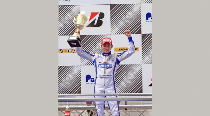 John Norris with Mach1 Kart at the European Championship