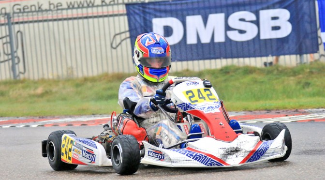 John Norris with Mach1 Motorsport at the DKM in Genk