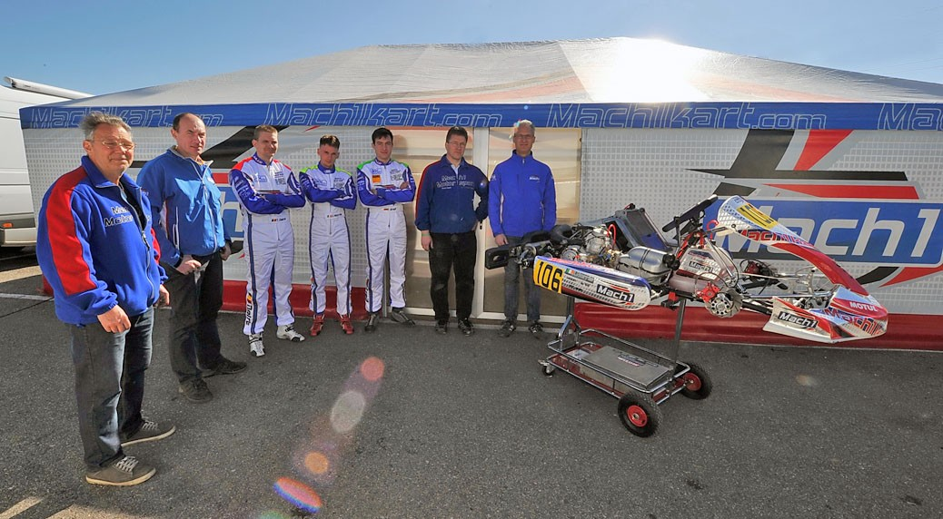 Mach1 Motorsport at the Margutti Trophy