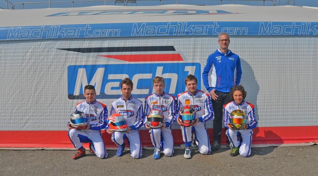 Mach1 Motorsport at the Margutty Trophy