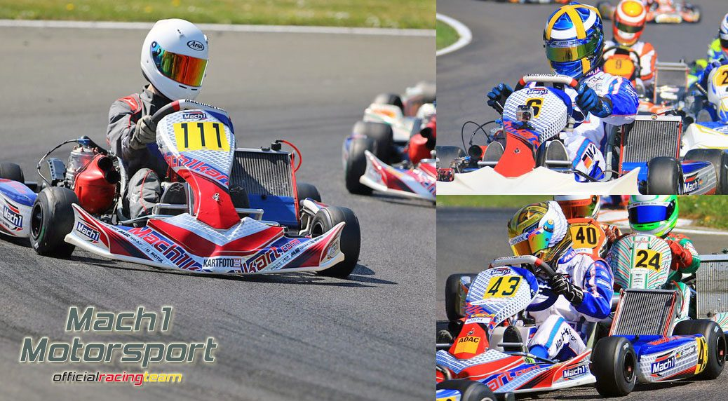Mach1 Motorsport at the ADAC Kartmasters in Hahn