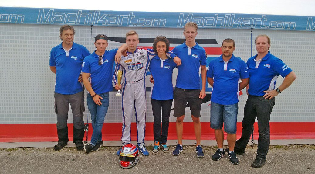 Mach1 Motorsport at the ADAC Kartmasters in Ampfing