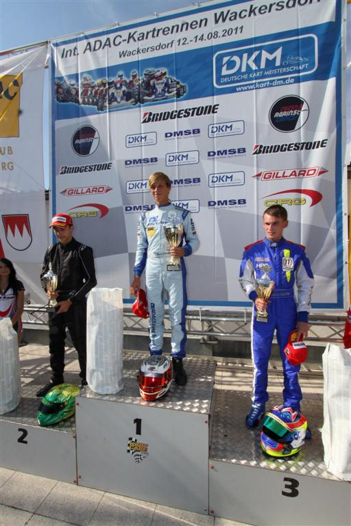 John Norris with Mach1 Kart at the DKM in Wackersdorf