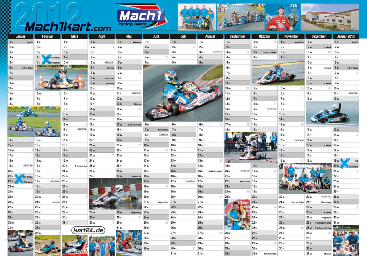 Mach1 Calendar 2012