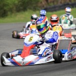 John Norris with Mach1 Kart at DKM Kerpen