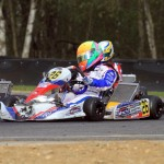 Lisa-Christin Brunner with Mach1 Kart at DKM Kerpen
