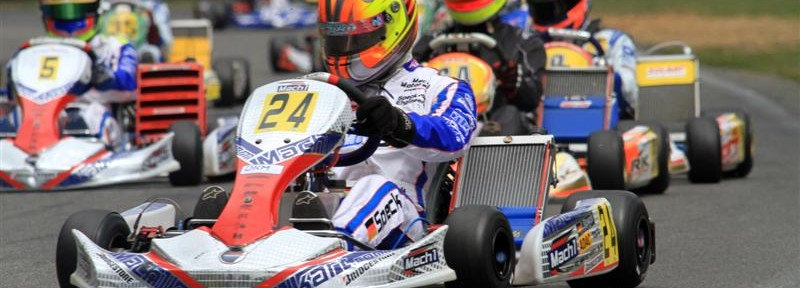 Lucas Speck with Mach1 Kart at DKM Kerpen