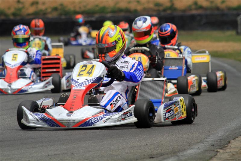 Lucas Speck with Mach1 Kart at DKM Kerpen