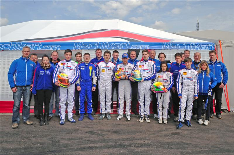 Mach1 Motorsport at the ADAC Kartmasters in Oschersleben
