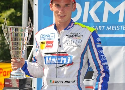 John Norris with Mach1 Kart at the DKM Hahn