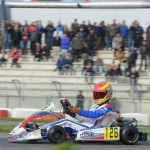 Cedric Piro with Mach1 Kart