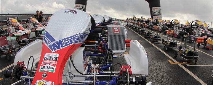 Mach1 Kart at the Rotax MAX Grand Finals 2012