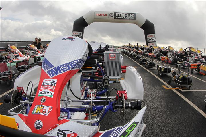 Mach1 Kart at the Rotax MAX Grand Finals 2012