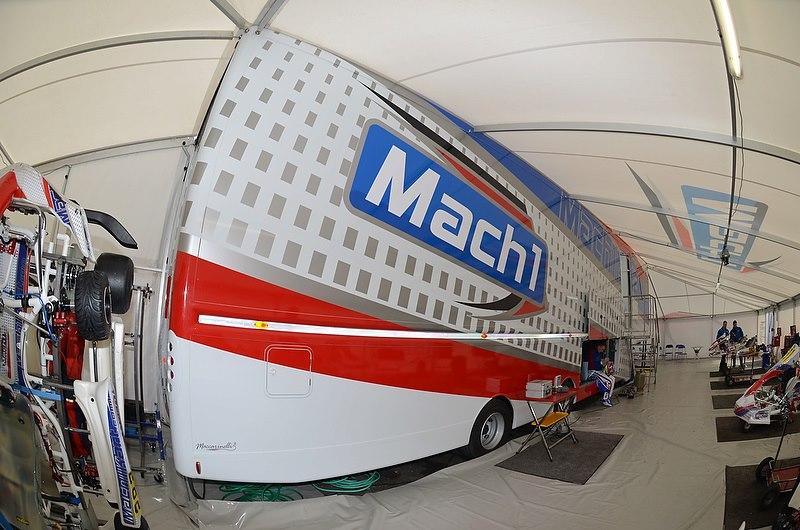 Mach1 Motorsport at the Wintercup in Lonato