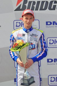 John Norris at the DKM in Ampfing with Mach1 Motorsport
