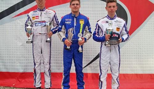 Mach1 Motorsport winning at the ADAC Kartmasters in Ampfing