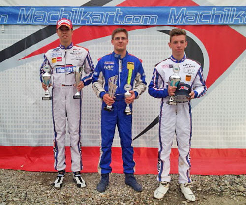 Mach1 Motorsport winning at the ADAC Kartmasters in Ampfing