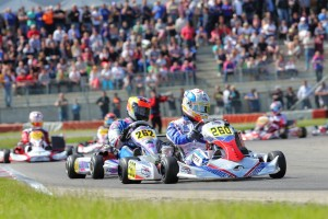 John Norris with Mach1 Kart at the WSK Euro in Genk