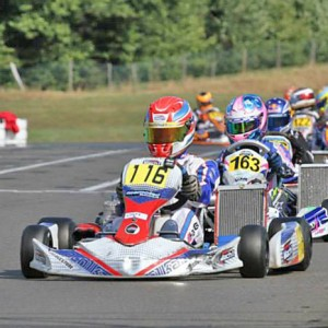 Nico Hagenaes with Mach1 Motorsport at the DKM race in Hahn