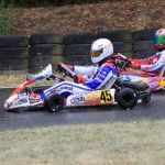 Sebastian Schwendt at the ADAC Kartmasters with Mach1 Kart