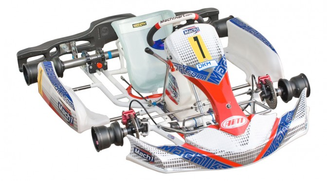 Shifter kart version of the Mach1 FIA9