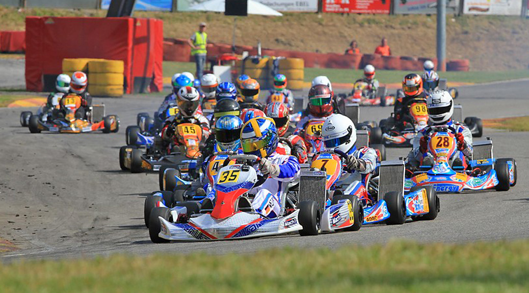 Julian Müller at the ADAC Kartmasters with Mach1 Kart
