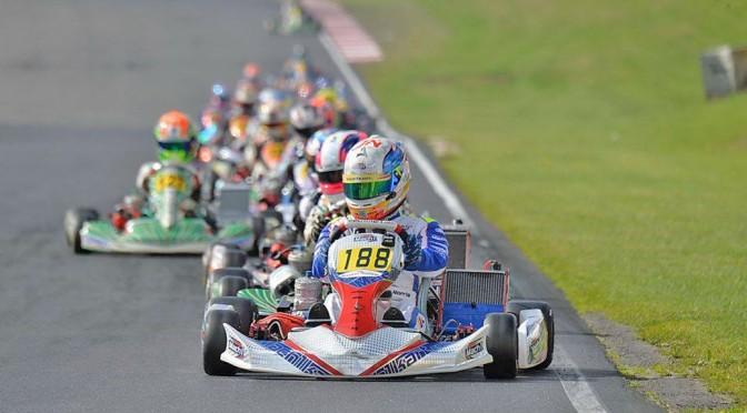 John Norris and Harrison Newey at the European Championship