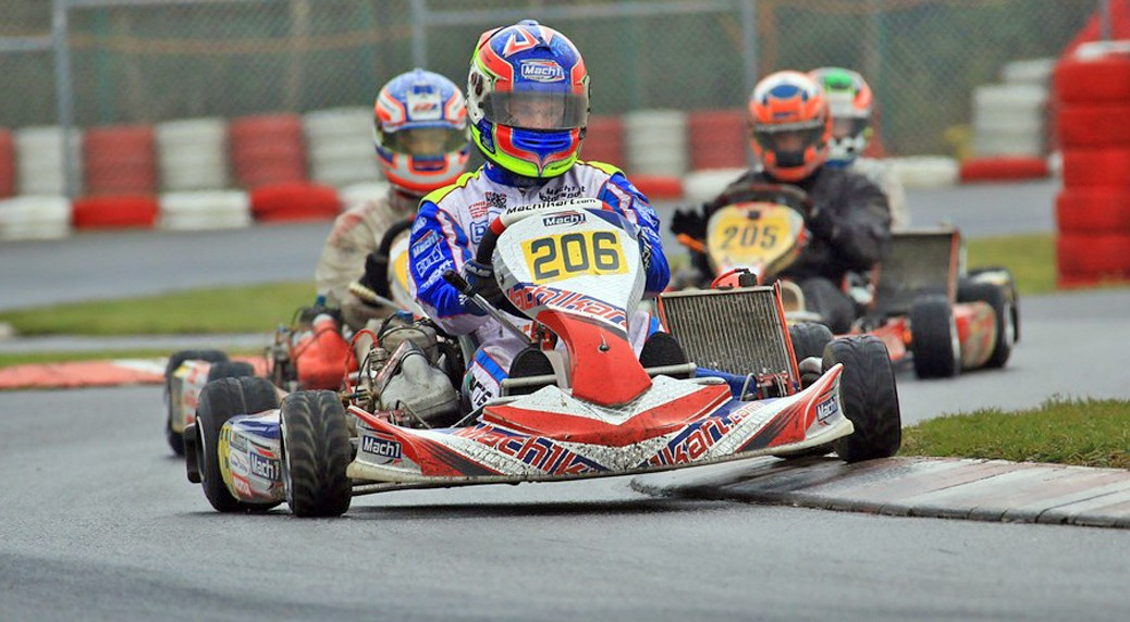 John Norris with Mach1 Motorsport at the DKM in Wackersdorf