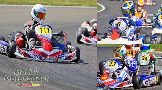 Mach1 Motorsport at the ADAC Kartmasters in Hahn