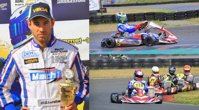 Mach1 Motorsport drivers at the ADAC Kartmasters in Oschersleben