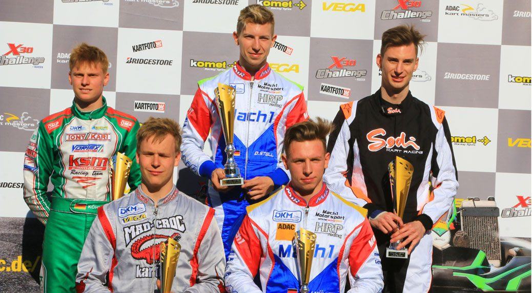 Mach1 Motorsport Drivers at the ADAC Kartmasters 2017 in Ampfing