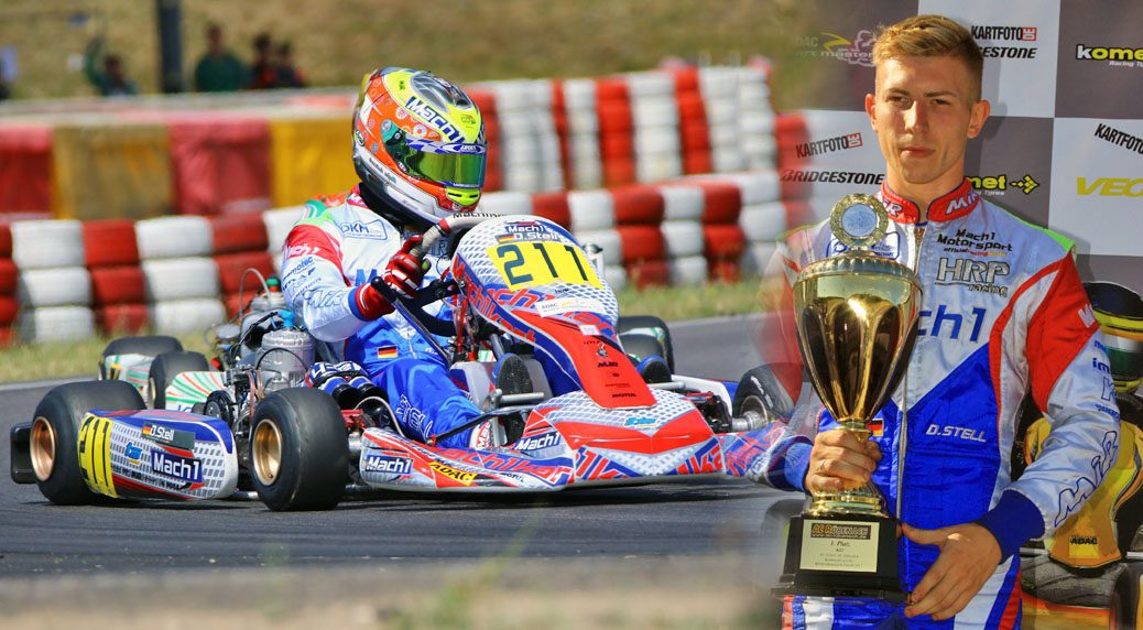 Mach1 Motorsport at the ADAC Kartmasters in Wackersdorf