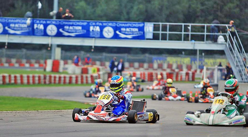 Mach1 Motorsport with Daniel Stell featuring Mach1 Kart at the World Cup in Wackersdorf